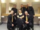 Fredo Jung mit dem Calmus-Ensemble in Lübeck am 10.02.2008.